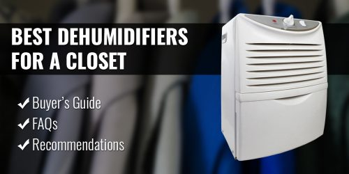 The Best Dehumidifiers for a Closet or Wardrobe